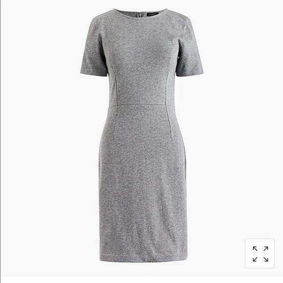 J. Crew Dresses & Skirts - J Crew Size 2T Grey Cotton Sheath Dress